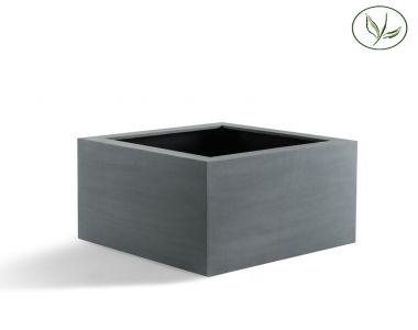 Amsterdam Low Cube L (80x80x60) Gris-noir