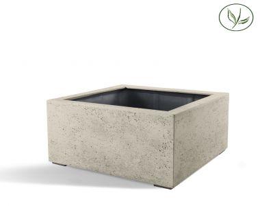 Paris Low Cube 80 - Vieux blanc (80x80x60)