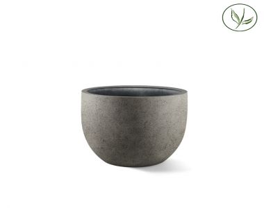 Paris New Egg Pot 80 - Béton gris (80x66)